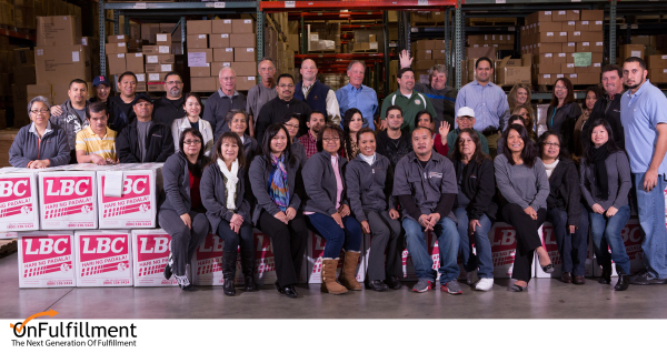 OnFulfillment Team Donates for Typhoon Haiyan