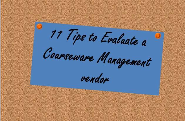 courseware-management-evaluation
