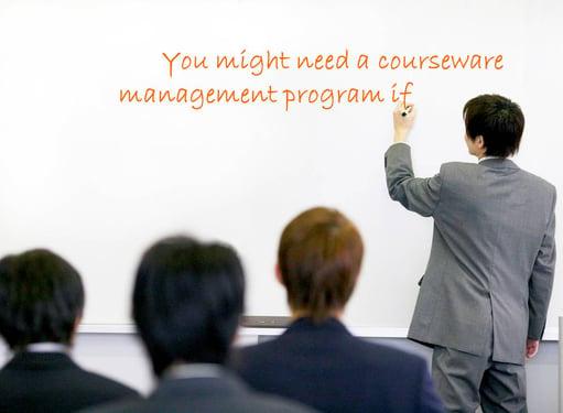 courseware-management-program